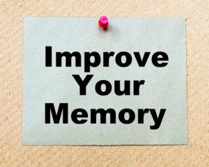 Centrophenoxine improves memory