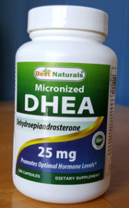DHEA in capsule form