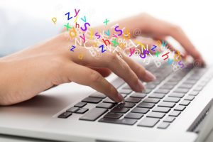Nicotine increases typing speed