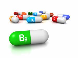 Vitamin B9 - Folate dosage