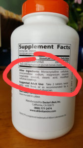 nootropic supplements other ingredients