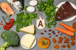 how vitamin A works in the brain
