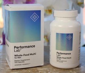 Performance Lab Whole-Food Multi for men