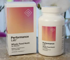 Best multivitamin Performance Lab Wholefood Multi for women